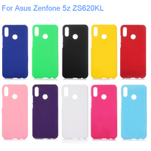 Case For  Zenfone 5z ZS620KL Slim Colorful Rubber Frosted Matte Plastic hard Cover Asus