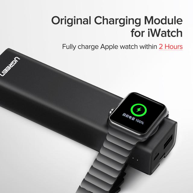 Wireless 10050 mAh Power Bank for Apple Watch