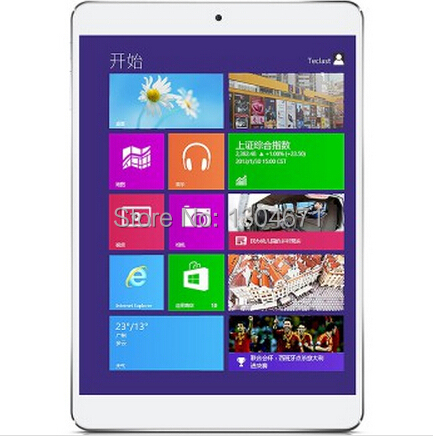 New arrival 7.9 inch Tablet PC Teclast X89 HD genuine WIN8 64-bit Intel Quad Core 2G/32GB retinal screen 6000mAh large batteries retinal scan recognition