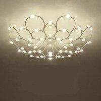 Ambiente moderno e minimalista soggiorno soffitto lampada da letto lampada personalità creativa piena di starlight lampada da soffitto ya872|ceiling lamp bedroom|ceiling lampliving room led -