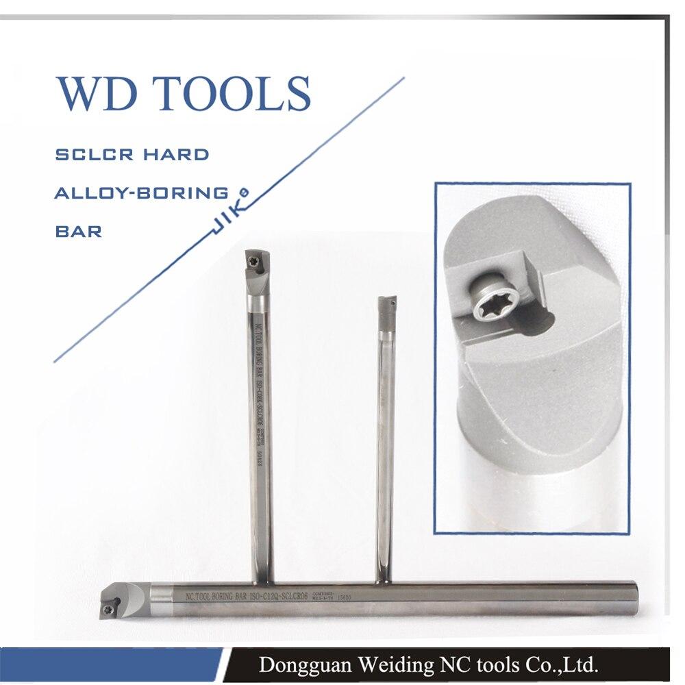 solid carbide C07K SCLCR06 110mm Hot Sale SCLCR Lathe Turning Holder Boring Bar Insert For Semi-finishing
