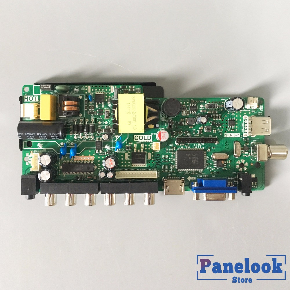 New TP.VST59.PA671 Power Motherboard Integrated TV Driver Board Instead Of TPVST59.P67
