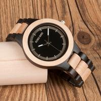Reloj clásico madera hombre pulso madera 1