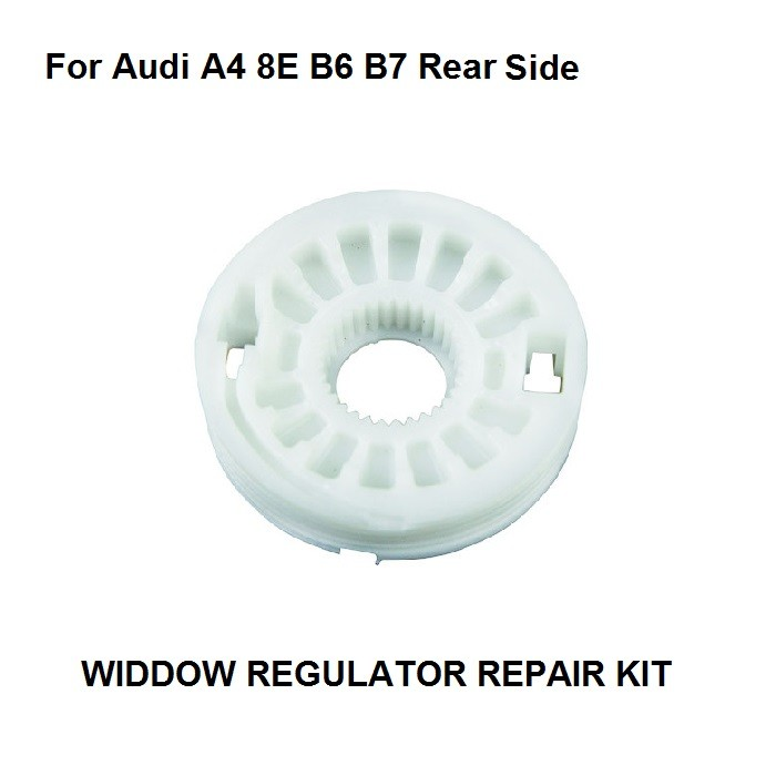 X1 For Audi A4 8E B6 B7 VAUXHALL OPEL ASTRA Window Regulator Repair Kit 1 Roller 4/5 - Doors Rear Left And Right New 2000-2008