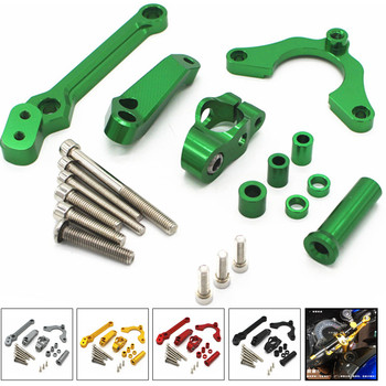 Fast Shipping for kawasaki Z900 2017 2018 2019 Motorcycle Accessories Steering Damper Mounting Bracket Kit Stabilizer Adjustable