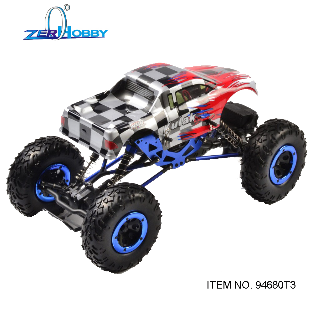 HSP RACING RC CAR TOYS 1/16 SCALE KULAK ELECTRIC OFF-ROAD 4WD CRAWLER TRUCK BATTERY POWERED RTR 94680 T3