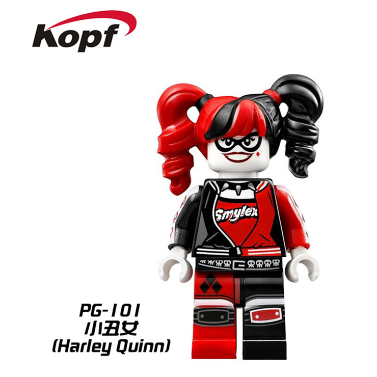 building blocks super heroes joker catwoman poison ivy batman robin calendar people harley quinn bricks toys for children pg8032 in blocks from toys