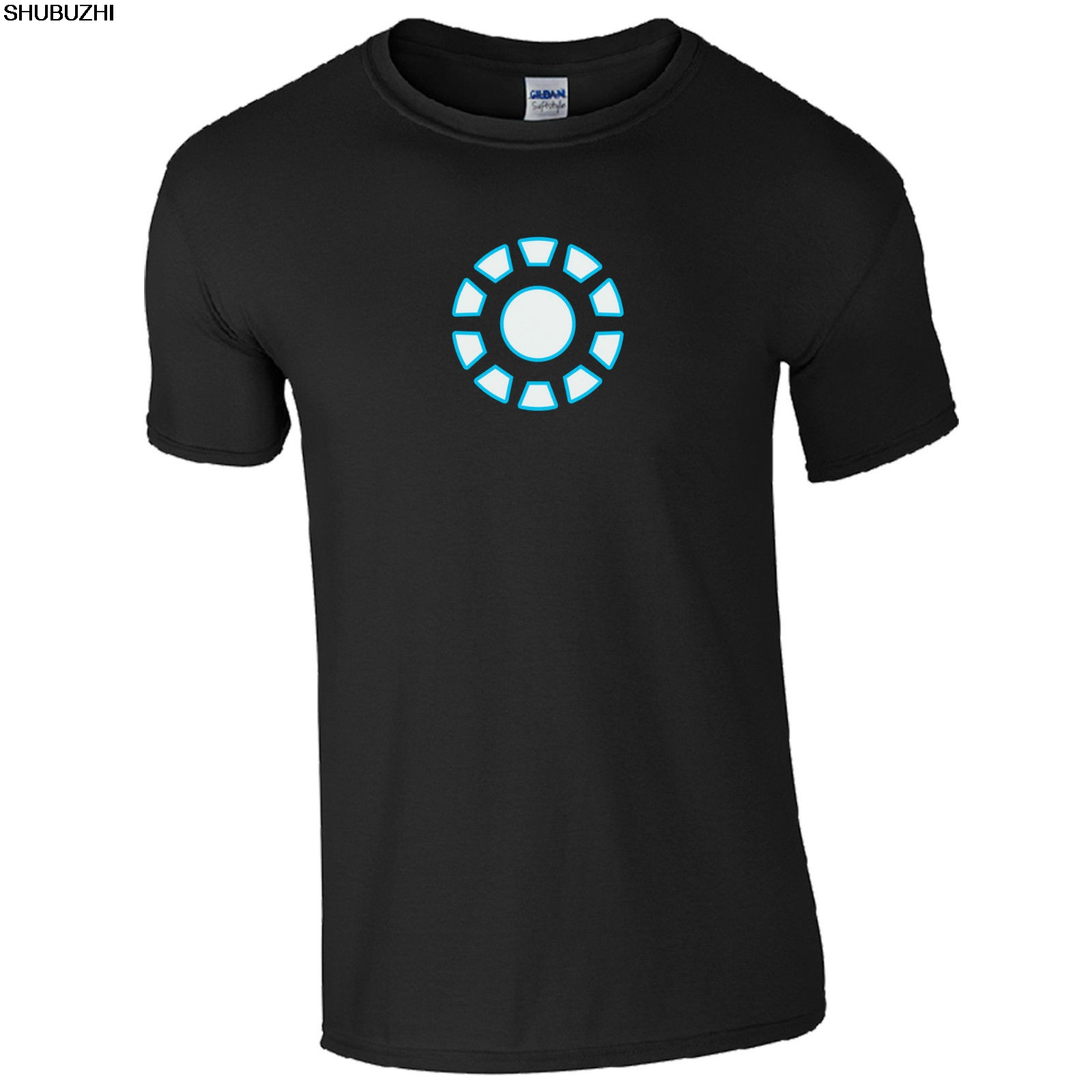 881af803f Iron Man Arc Reactor T-Shirt - Stark Inspired Tony Industries Kids Mens  Gift Top