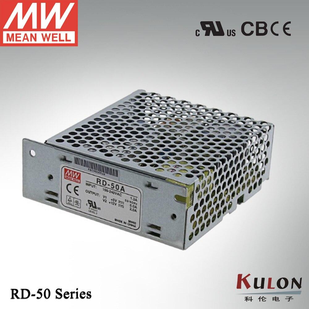 все цены на  Original Mean well RD-50B 54W 5V 24V Dual output Meanwell Power Supply  онлайн
