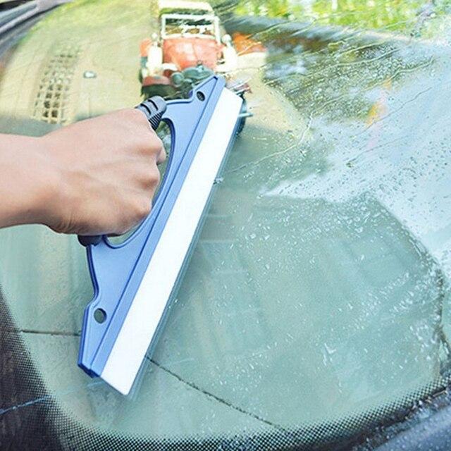 Silicone macio Limpador Windowshield Esponjas Cuidados de Lavagem De Carro pistola de Água Da Lavagem Do Carro Rodo Limpador de Auto Ferramentas de Limpeza de Vidro de Janela