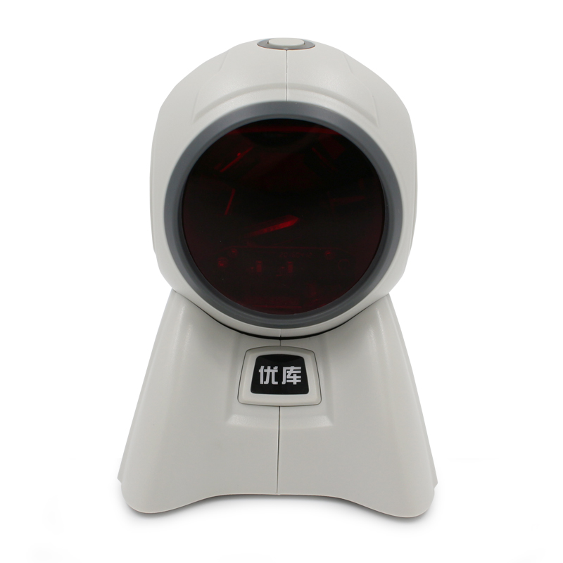 Omnidirectional Multi-Line Laser Barcode Scanner YK-8160 20 scan lines with USB/PS2/RS232/ free shipping for POS