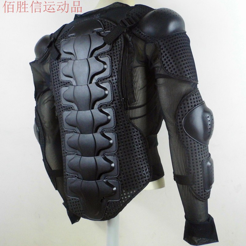 Motorcycle Full Body Armor Jacket Motocross Spine Chest Protection Gear XL-XXXL