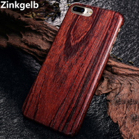 For Apple iPhone 8 Cover Case Luxury Cute Slim Hard Natural Wood Armor Shockproof Phone Case for iPhone 7 8 Plus Back Cover Capa