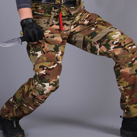 Military Tactical Camo Cargo Pants Men Military Style Combat Pants Army Active Waterproof Camouflage Pants Men