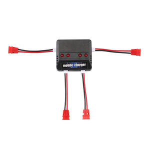 Image 5 - 4 ชิ้น 3.7 โวลต์ 500 มิลลิแอมป์ชั่วโมง 25C Lipo แบตเตอรี่ + 1 ชิ้น 4 พอร์ตแบตเตอรี่ชาร์จสำหรับ Syma X5UW X5UC RC Quadcopter Drone อะไหล่