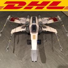 2017 New LEPIN 05039 1586Pcs Star War Red Five X-wing Starfighter Model Building Kits Blocks Bricks Toys For Children Gift 10240