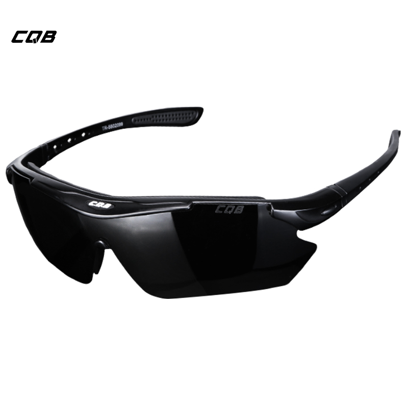 CQB Outdoor Sports Tactical Military Climbing Polarized Sunglasses Men HD Hiking Fishing Cycling Glasses Shooting Glasses free soldier outdoor sports tactical polarized glass men s shooting glasses airsoft glasses myopia for camping