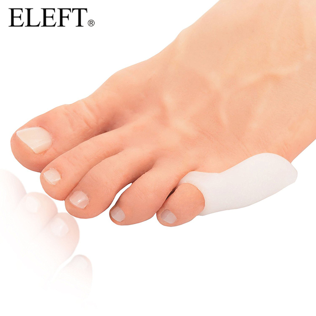 ELEFT Pinky Hallux Valgus Appliance Orthotic Insoles foot care shoes accessories Orthopedic Gel insoles Silicone Shoe Pad