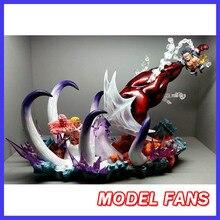 MODEL FANS instock jacksdo One Piece 40cm SD Monkey D. Luffy VS Donquixote Doflamingo gk resin toy Figure for Collection