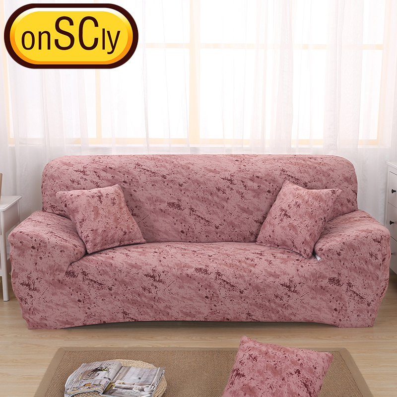 US $16.65 50% OFF Brick Red Protector Sofa Cover Sofa Slipcover Furniture  Couch Cover For Sofa Covers For Living Room Corner Sofa Cover Elastic-in ...