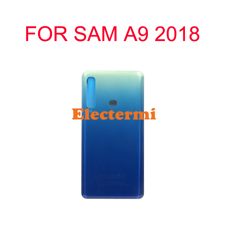 15PCS Free Shipping For Samsung Galaxy A9 2018 A9 Star Pro A920 Back Battery Cover Rear Door Housing Case With Camera Lens Glass in Mobile Phone Housings Frames from Cellphones Telecommunications