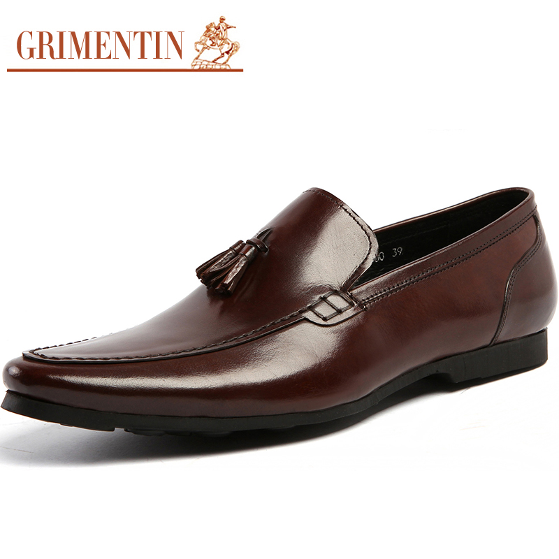 aliexpress buy mens loafer shoes genuine leather