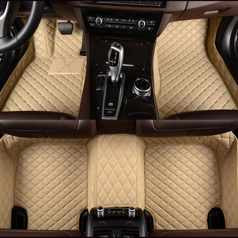 Tapis de sol de voiture en cuir sur mesure pour citroën C3-XR C4 Cactus C2 C3 C5 Aircross SUV accessoires de voiture 100% fit