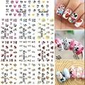 Más grande Set ( 11 diseños en uno ) ratón pegatinas de uñas calcomanía de diseño de dibujos animados uñas pegatina nueva DecalBLE2248-2258