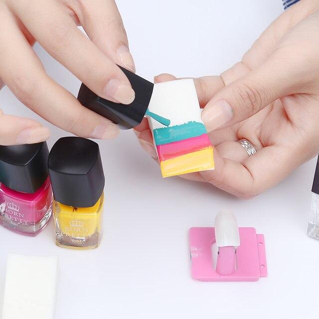 Online Shop 3pcs Gradient Nails Soft Sponges For Color Fade Manicure