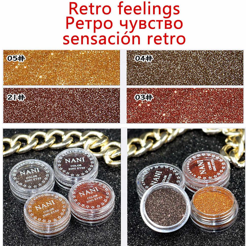 1 Box Berlian Hitam 23 Warna Glitter Eyeshadow Bubuk Pigmen Mineral Spangle Halus Makeup Kosmetik Set Tahan Air Tahan Lama