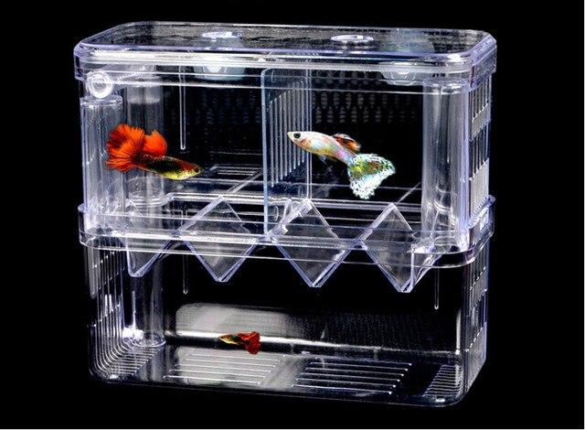 2 zimmer luke box auszusetzen aquarium arcylic guppy baby kleine fische trennung zucht box auto. Black Bedroom Furniture Sets. Home Design Ideas