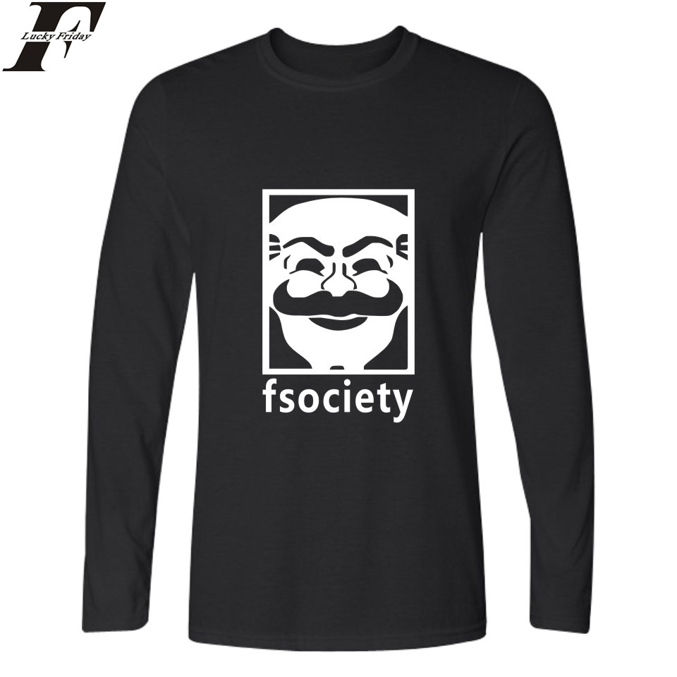 Aliexpress.com : Buy LUCKYFRIDAYF Punk Style Mr Robot ...
