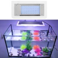 2835SMD 32LED Aluminum Acrylic 5W Flexible Aquarium Lighting Fish Tank Clip Light Lamp with Extendable Brackets for Aquarium
