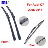 QEEPEI Car Wiper Blades For Audi Q7 2006 2015 Combo Front 26 24 And Rear Professional