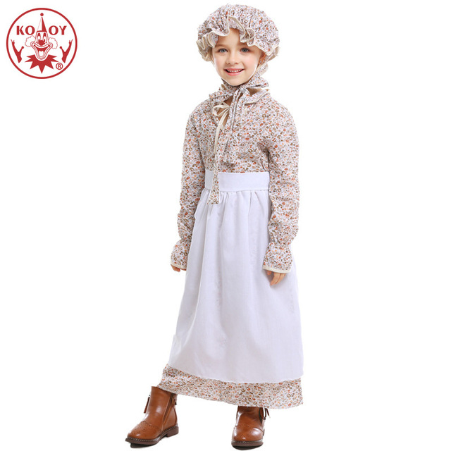 Wolf Grandmother Costume Halloween Costume For Kids Farmer Girl Fairy tale theme suit Party Cosplay christmas costume