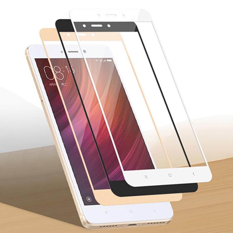 Screen-Protector Tempered-Glass Redmi Note Full-Cover 4x5-Plus Pro-Film S2 Xiaomi 6A