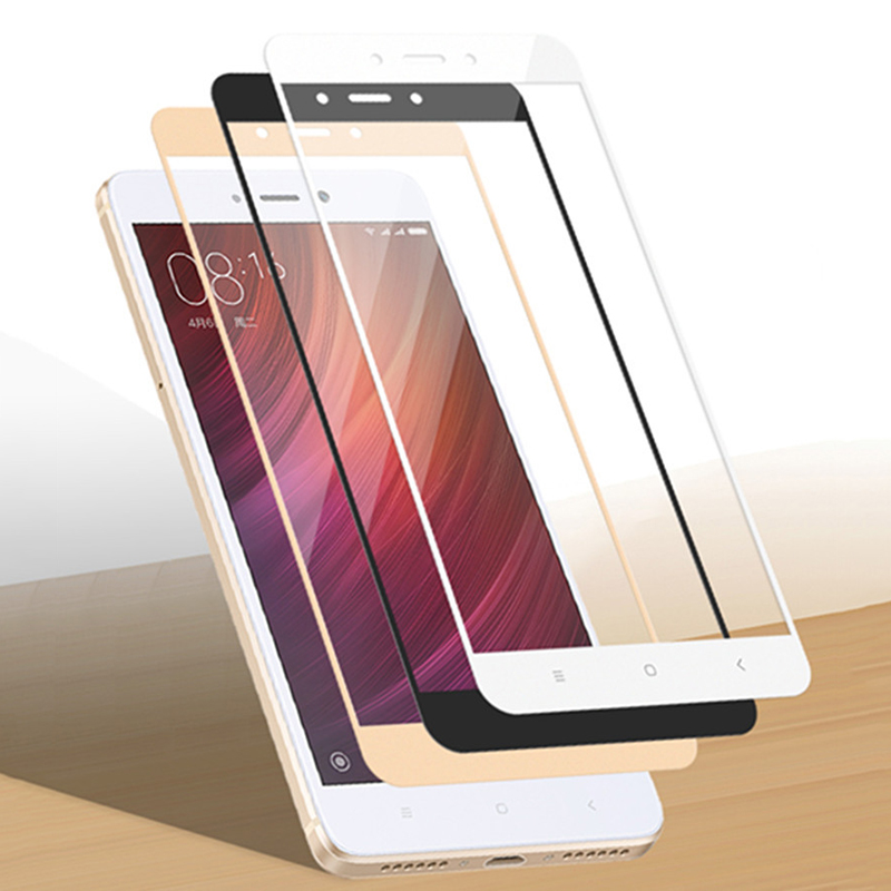 Full Cover Screen Protector For Xiaomi Redmi 4X 5 Plus 5A 6A S2 Note 3 4 4X 5 6 Pro Film For Redmi Note 6 Pro Tempered Glass