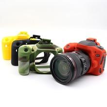 Хороший мягкий силиконовый чехол для Canon 80D видеокамера сумку-чехол для камеры резиновая защитный чехол кожи для Canon EOS 80D 4 цвета
