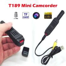 Nova T189 Full HD 1080 P Mini Pen Gravador de Voz Digital/Câmera de vídeo Com Clipe de Mini DV Câmera Filmadora Camara gravador de Voz
