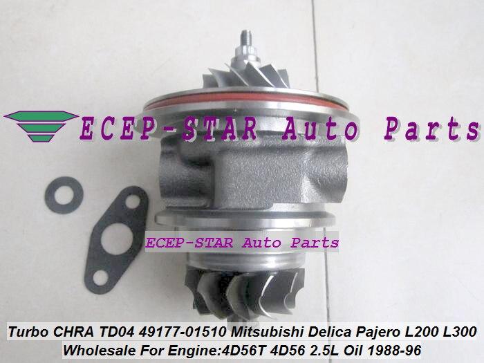 Turbo Cartridge CHRA Core TD04 49177-02510 49177-02511 MD155984 MD187211 For MITSUBISHI MONTERO L200 L300 L400 PAJERO 4D56Q 2.5L