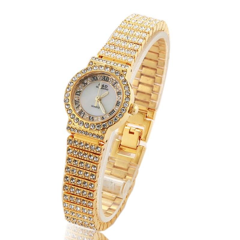 2018 G&D Luxury Women's Watches Ladies Watch Female Watch Quartz Wristwatch Relogio Feminino Bracelet Clock Montre Femme