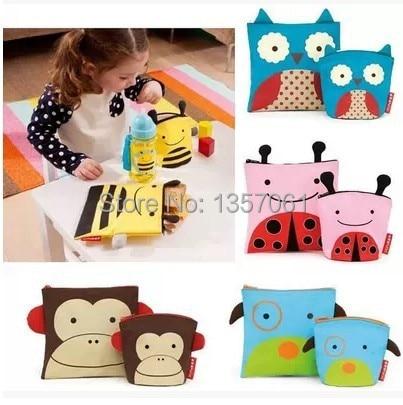 Lindo bebé animales modelos vajilla bolsas de aperitivos ready to llevan a cabo el niños y niñas son aplicables A25