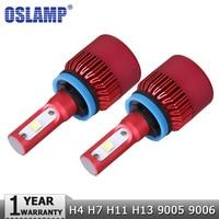 Oslamp H4 H7 H11 H13 9005 9006 CREE Chips SMD 80W LED Car Headlight Bulb Hi