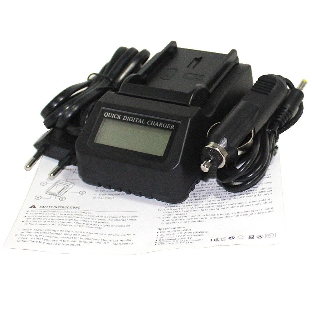Hot sales D-LI90 DLI90 D LI90 Li-ion Camera Battery LCD Fast Charger For Pentax PENTAX K-7 K-7D K-5 K-5 II 645D K01 z1
