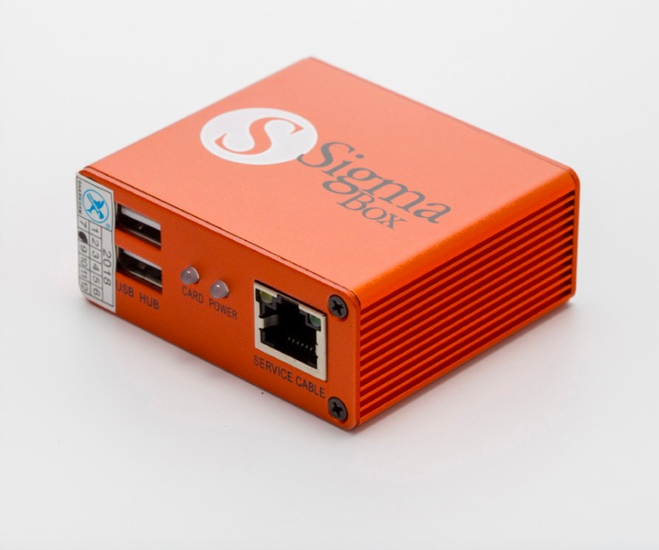 Entsperren werkzeug von Sigma Box für chinesische marke telefon. - 3