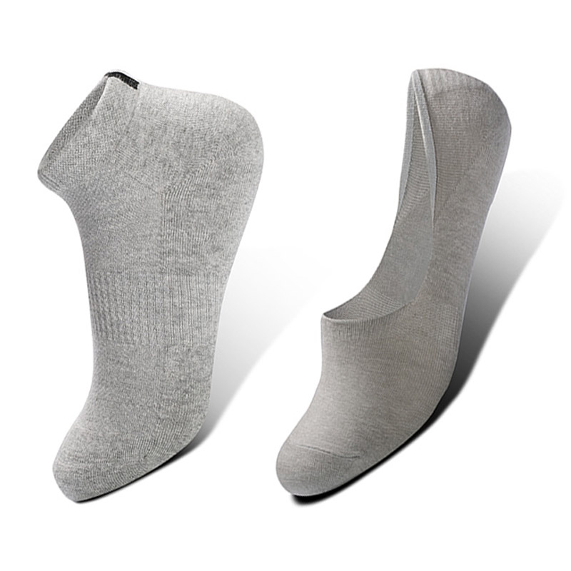 High Quality Cotton Man Socks Invisible Socks Short Socks Lycra Fabric Skin breath freely socks 10 pairs assorted for sale