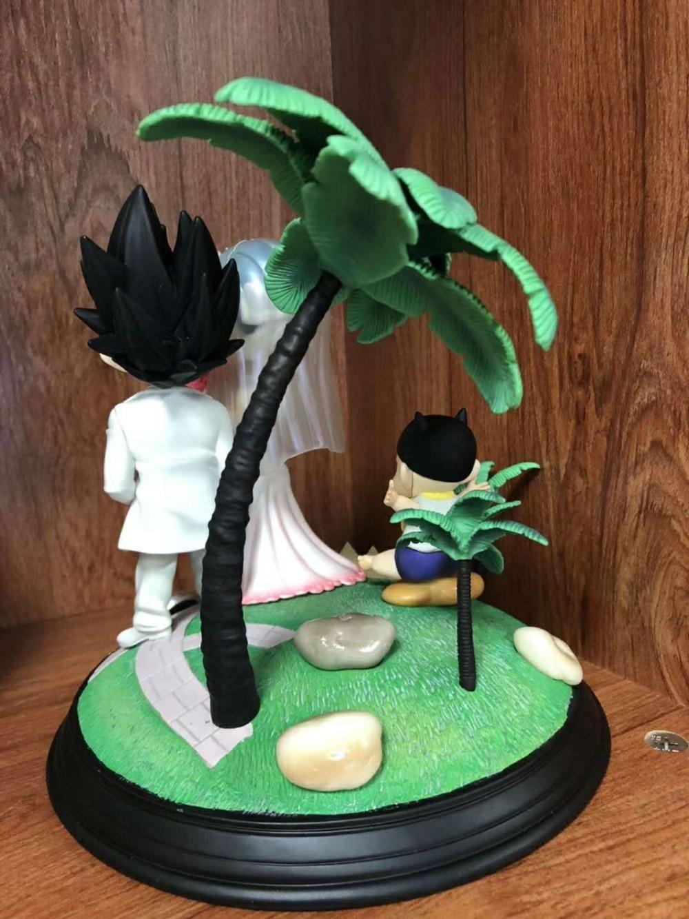Горячий Жемчуг дракона Супер Saiyan принц Вегета Bulma женится на свадьбе день бурума детские трусы сцена фигурка игрушки лучший подарок - 4