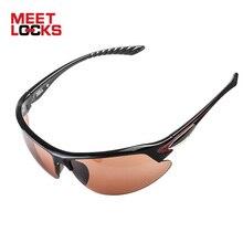 MEETLOCKS Sports Sunglasses, PC Frame,100% UV Protection,For Fishing ,Cycling,Baseball,Riding, Driving,Running,Outdoor