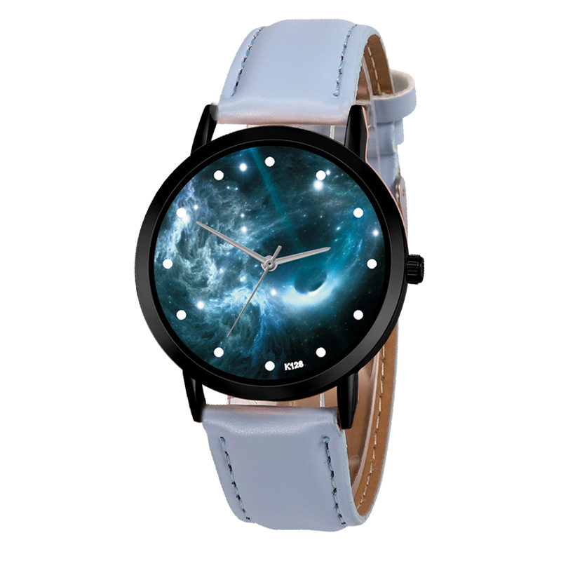 Astronomy Space System Watch Creative Unique Solar Planets Unisex Classy Casual Quartz Leather Strap Analog Watches Montre Femme Watches