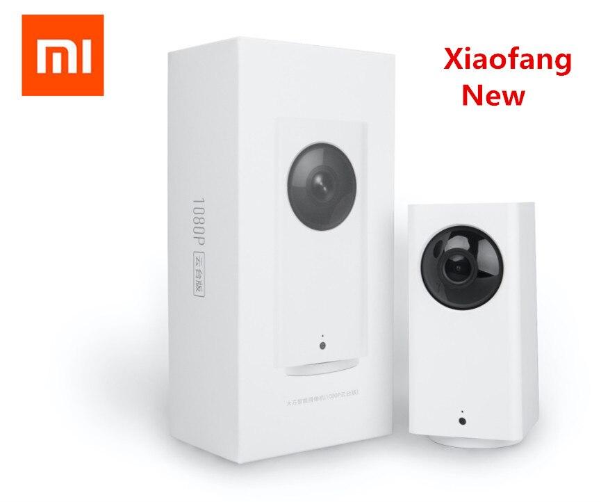 Xiao mi mi jia Xiaofang Novo Dafang Casa Inteligente 110 Graus 1080 p HD de Segurança Inteligente WIFI IP Cam Noite visão Para mi casa app